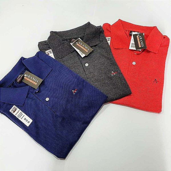 Kit 90 Camisas Polo Atacado Malha Piquet Premium