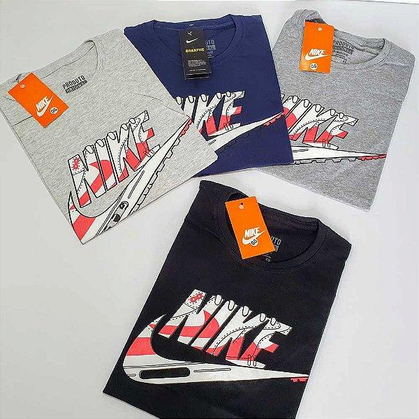 Kit 50 Camisetas Masculinas Estampadas Fio 26.1