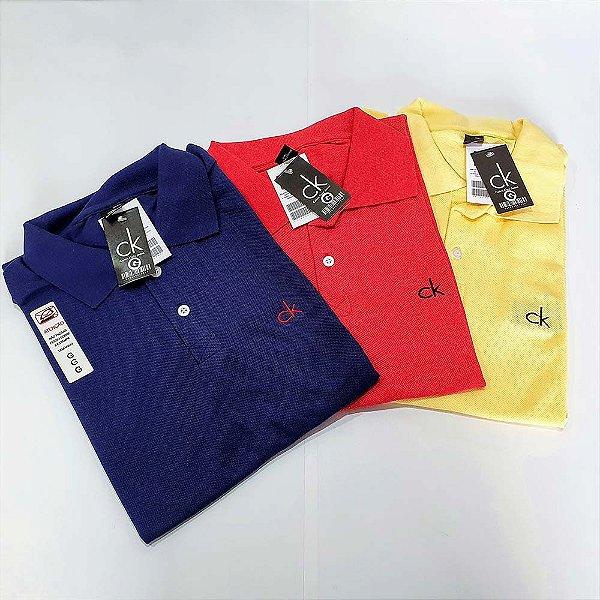 Kit 12 Camisas Polo Atacado Malha Piquet Premium