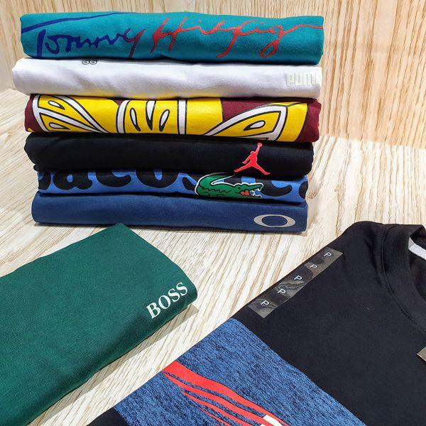 Kit 100 Camisetas Variadas Atacado Fio 30.1 Premium