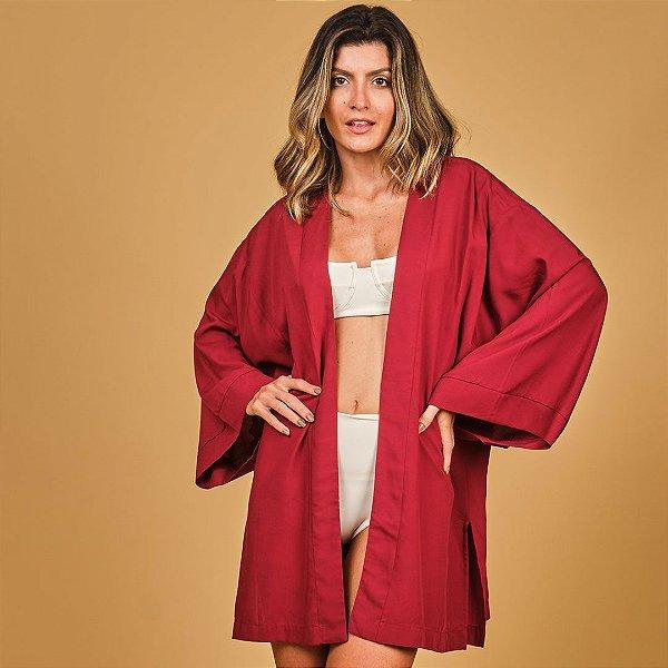 Kimono Marsala