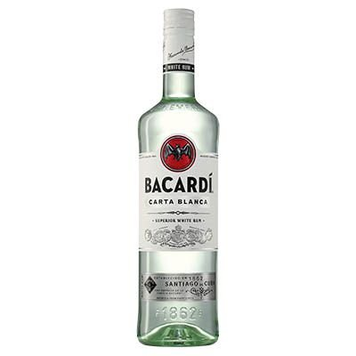 Rum Bacardi Carta Blanca 980ml