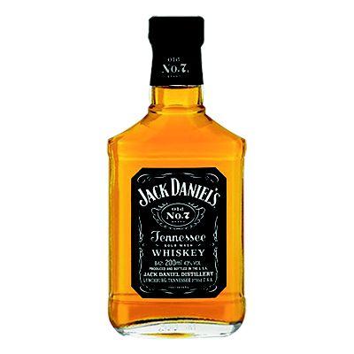 Whiskey Jack Daniel's Petaca 200ml