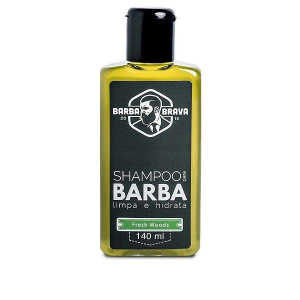 Shampoo Para Barba - Fresh Woods - BARBA BRAVA