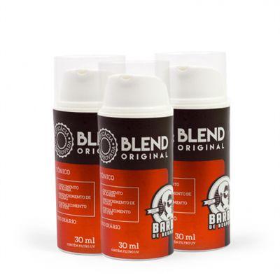 KIT Blend Original® Para Crescimento da Barba - 3 MESES DE TRATAMENTO - BARBA DE RESPEITO