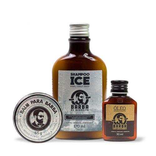 Kit ICE para Barba - BARBA DE RESPEITO