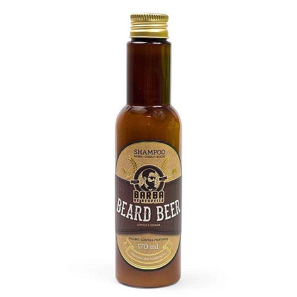 Shampoo Beer para Barba e Cabelo – 170 ml - BARBA DE RESPEITO