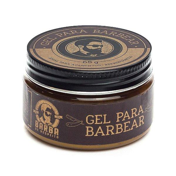 Gel Para Barbear - 65g - Barba de Respeito