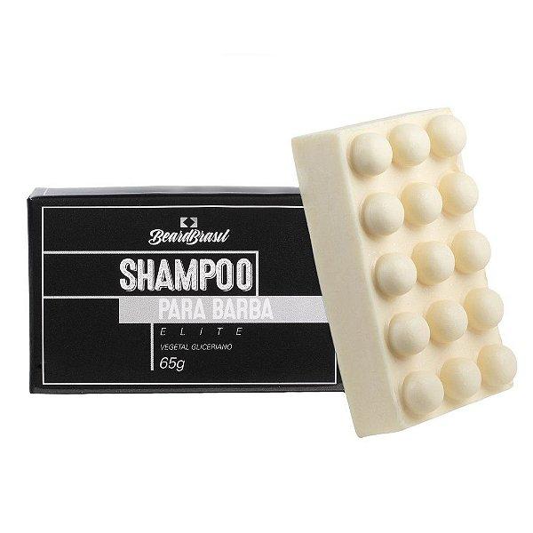 Shampoo para Barba em Barra - 65g - BEARD BRASIL