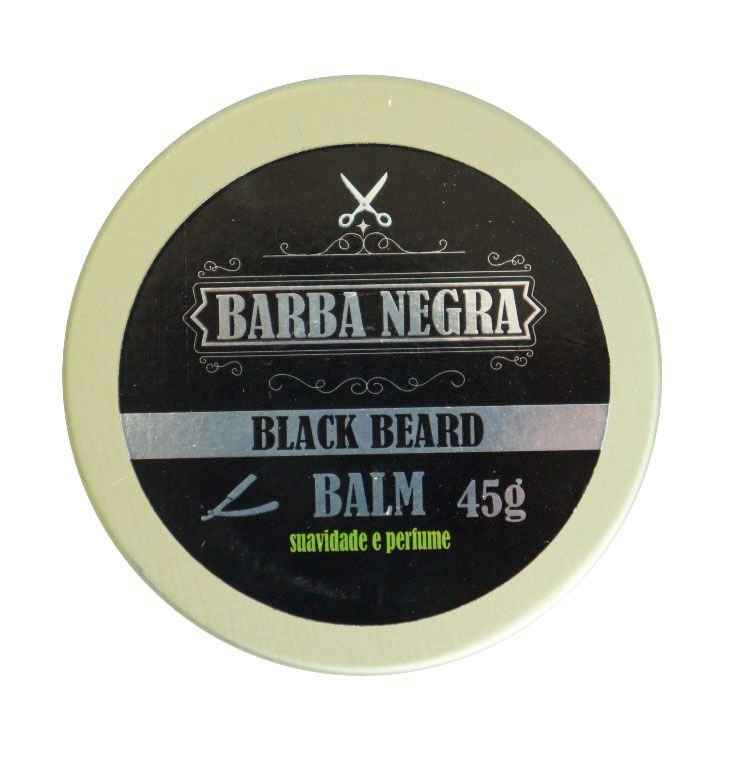 Balm Para Barba - 45g - BARBA NEGRA