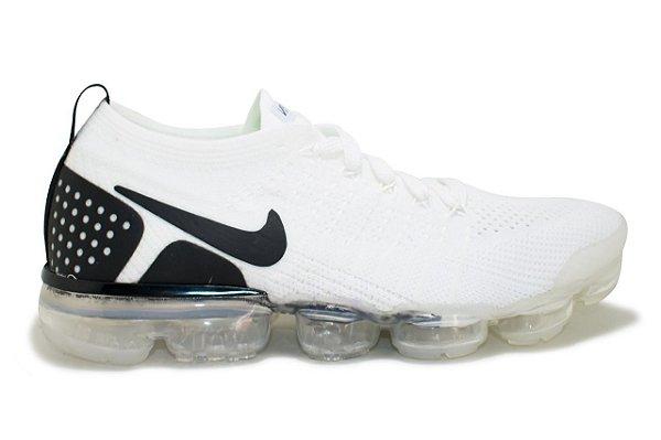 a26606003c9 Tênis Nike Vapormax Flyknit 2 Masculino - Branco e Preto - VibeSurf