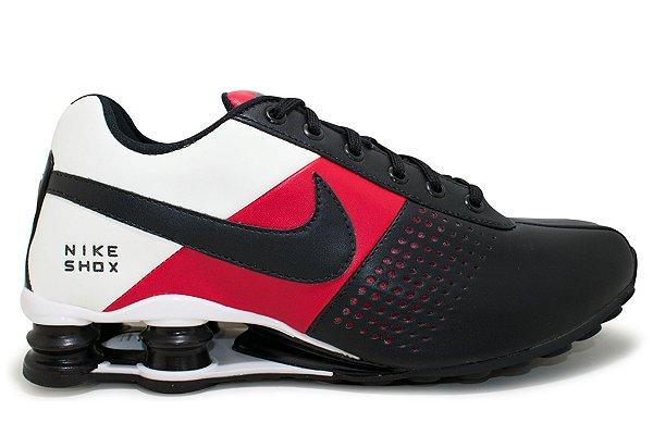 58b78f59940 Tênis Nike Shox Deliver Masculino - Preto e Branco