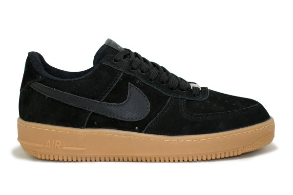 f9e09c4a00 Tênis Nike Air Force 1 Couro Masculino - Preto e Latex