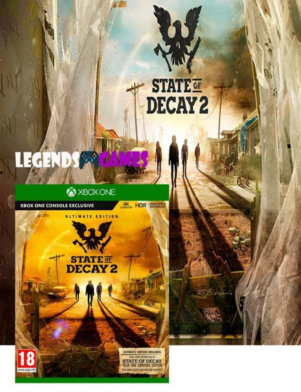 State Of Decay 2 Ultimate Edition Xbox One Somente Offline