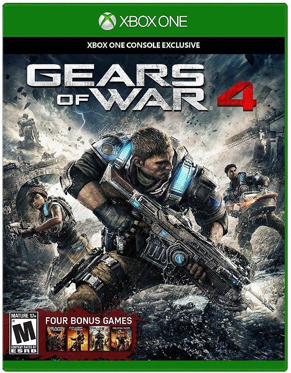 Gears of War 4 - Xbox One - Mídia Digital - Somente Offline