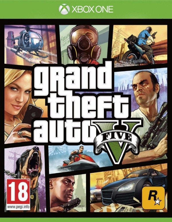 Gta V - Xbox One - Mídia Digital - Somente Offline