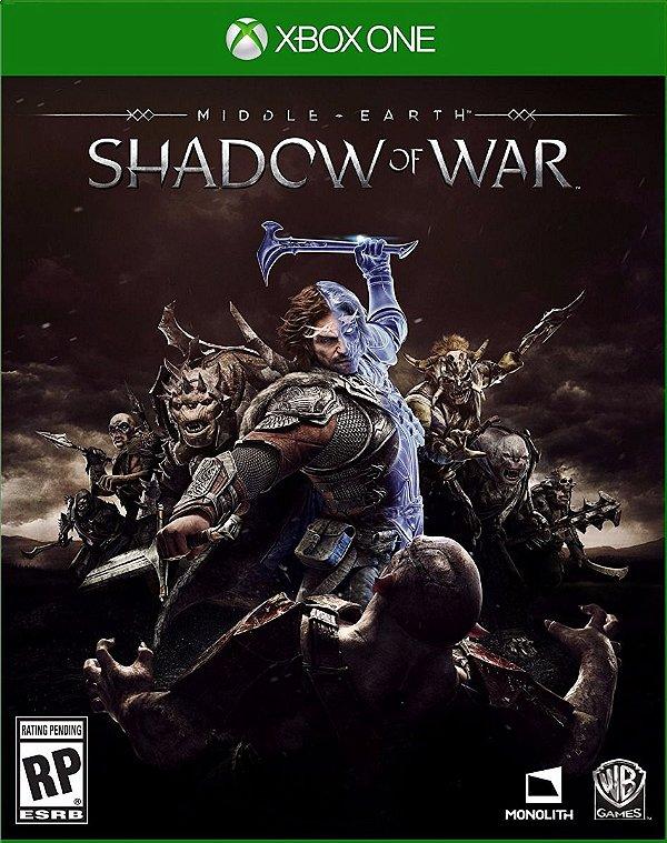 Sombras da Guerra - Xbox One - Mídia Digital - Somente Offline