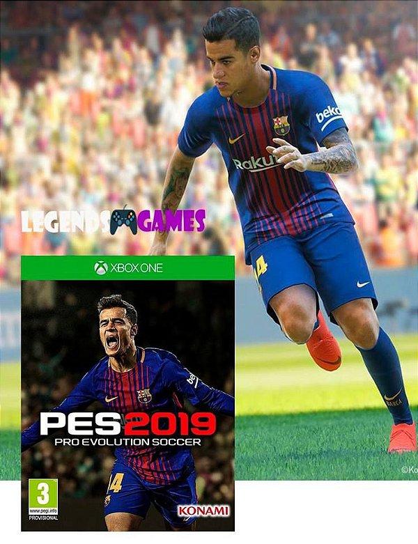 Pes 2019 - Pré Venda - Xbox One - Somente Offline (Leia a Descrição)