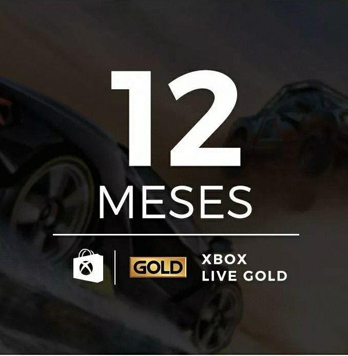 Live Gold - 12 Mês - Gamertag Compartilhada - Envio Imediato