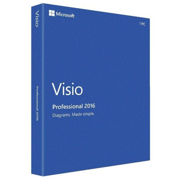 MICROSOFT VISIO PROFESSIONAL – ESD