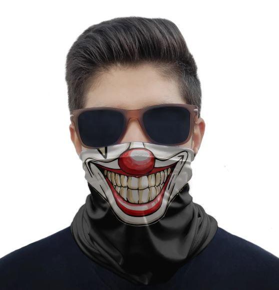 Máscara Bandana Palhaço
