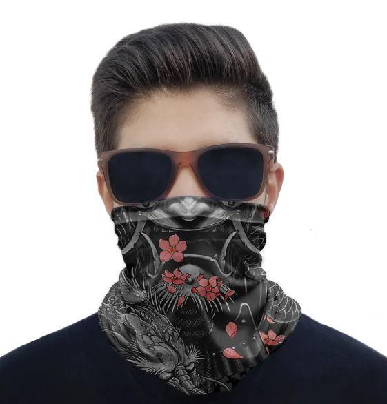 Máscara Bandana Samurai