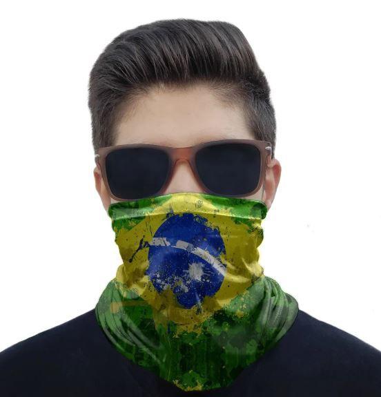 Máscara Bandana Brasil 2