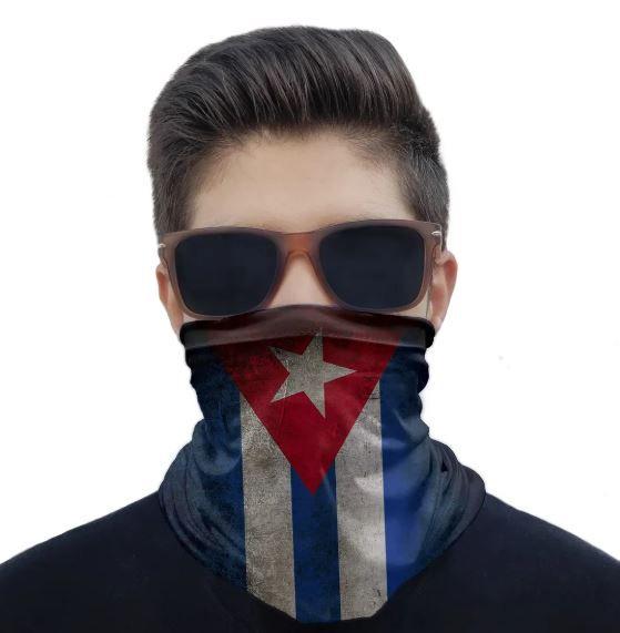 Máscara Bandana Cuba
