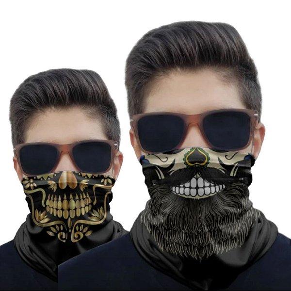 Kit 2 Máscaras Barba e Mexicana 1