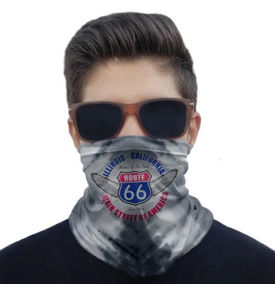 Máscara Route 66