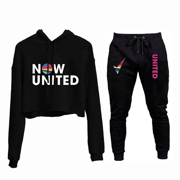 Combinado Cropped e Calça Now United