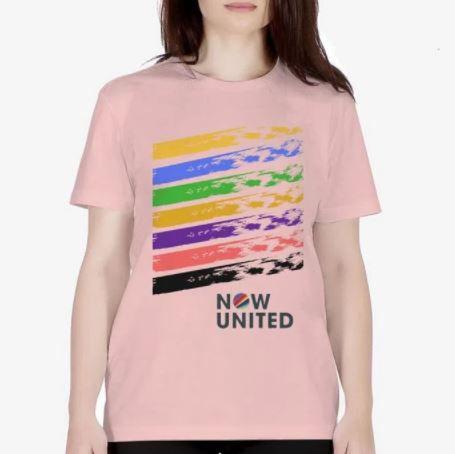 Camisa Now United Cores Camiseta Manga Curta
