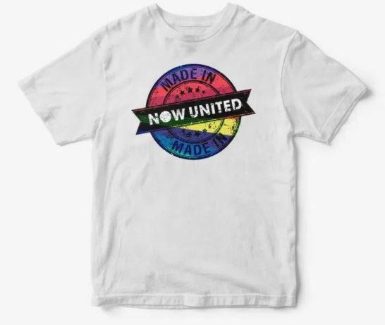 Camisa Infantil Now United Camiseta Manga Curta
