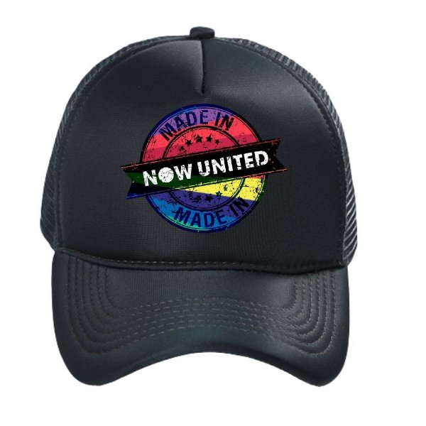 Boné Made in Now United