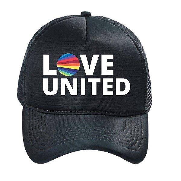 Boné Trucker Love United
