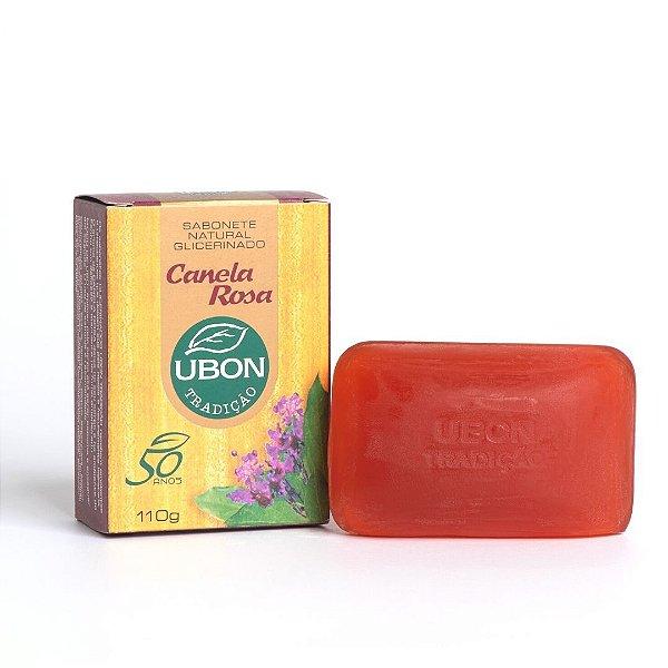Sabonete Natural Glicerinado Canela Rosa 110g