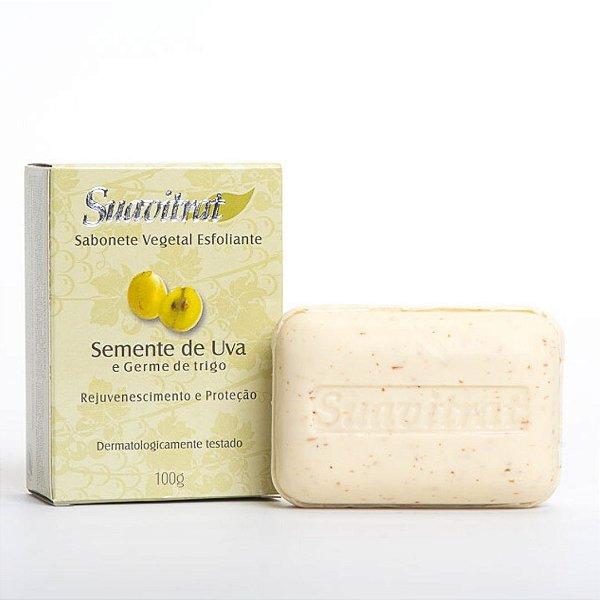 Sabonete Vegetal Esfoliante Semente de Uva e Germe de Trigo 100g