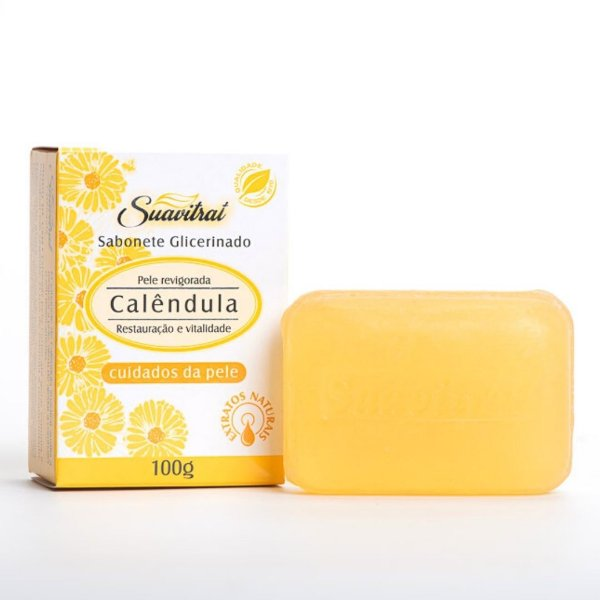 Sabonete Glicerinado Calêndula 100g