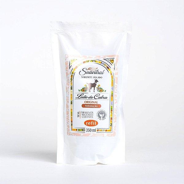 REFIL- Sabonete Líquido Leite de Cabra Original 350ml