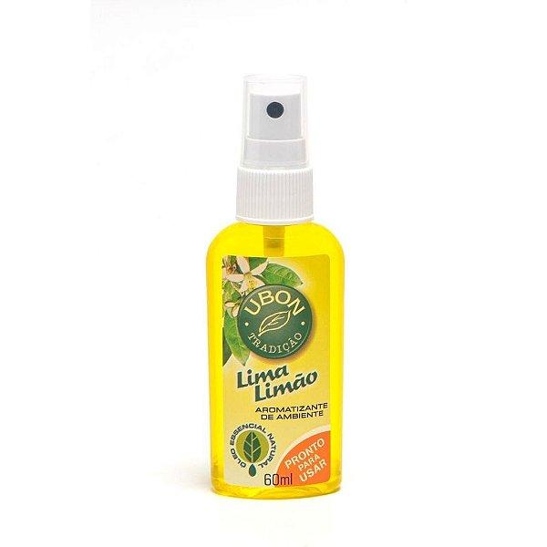 Mini Aromatizante de ambiente Pronto Uso Lima Limão 60ml