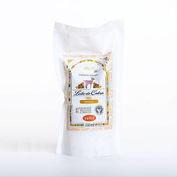 REFIL - Sabonete Líquido Leite de Cabra e Mel 350ml