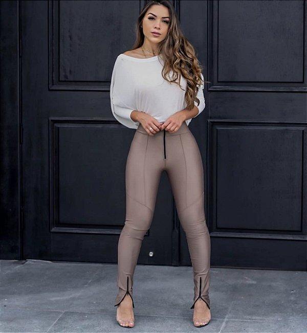 Calça Prada Skinny Zíper Frontal Fendi