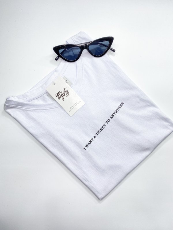 T-Shirt Ticket Anywhere