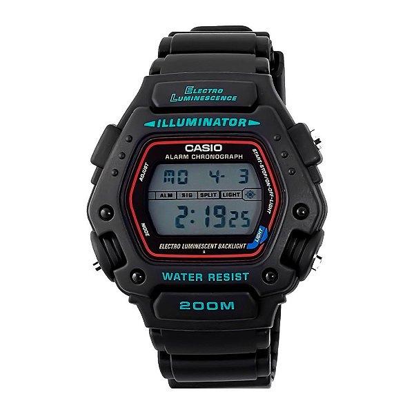bf9df4d5c5d Relógio Casio Illuminator Digital DW-290-1VS - Relojoaria e Ótica Santos