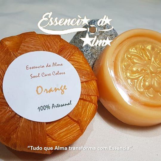 Orange Sabonete Soul Care Colors 80g