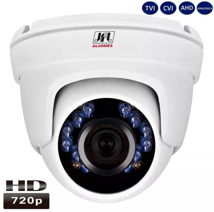 CAMERA JFL CHD 1120M DOME HD 720P METAL LENTE 2.8MM TVI/CVI/AHD/ANALOGICA