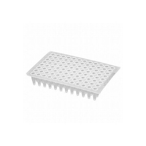 Microplaca de PCR 96 poços, sem borda, poço elevado, caixa com 50 unidades, mod.: PCR-96-C (Axygen)