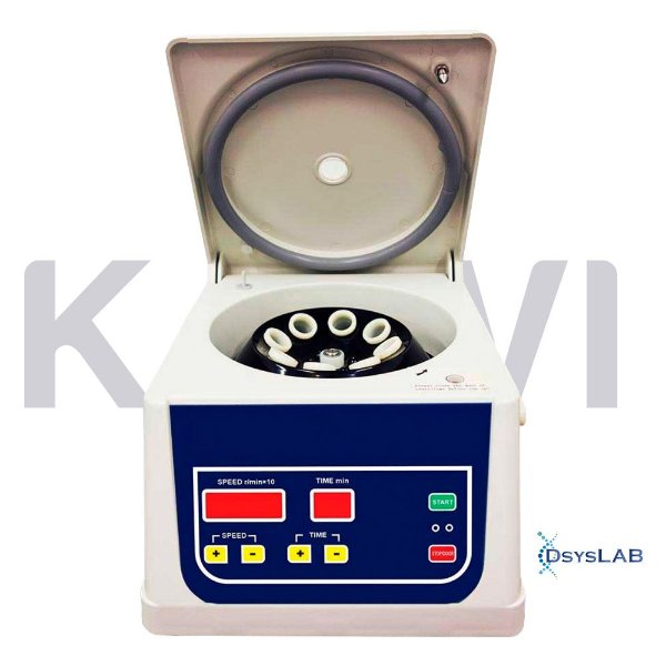 Centrífuga de rotor Ângulo fixo para 8 tubos de 15 mL, 4000 RPM, bivolt, mod.: K14-0815C (Kasvi)