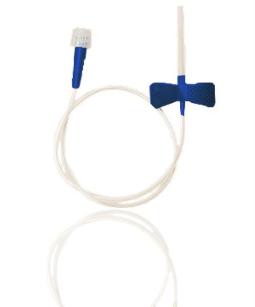 Escalpe para coleta de sangue com seringa 23G, caixa com 100 unidades, mod.: ESPE23G7 (Vacuplast)
