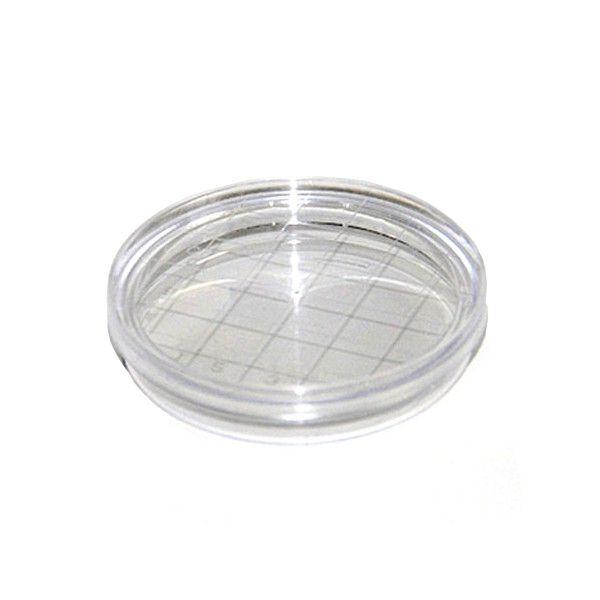 Placa de Petri para microbiologia 60x15mm, tipo Rodac, estéril, pacote com 10 unidades, mod.: 17510E-PCT (Cralplast)